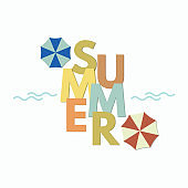 summer typography, summer background banner, season creative vector background, abstract background
