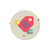 price tag icon, sale icon vector, offer banner concept, Price Tag, Vector, Label, Giving, Illustration, Buy Sticker Colored Vector Illustration, creative icon vector concept,  trending icon, new generation