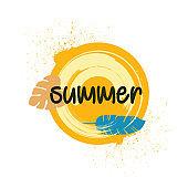 summer banner, summer abstract background, summer festival, season sale, hot summer, offer banner
