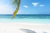 Tropical beach of Maldives