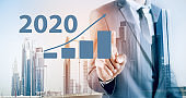business concept plan new construction of tall buildings in 2020