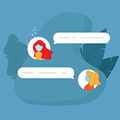 chat conversation message