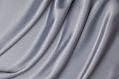 gray satin fabric