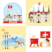 Switzerland backgrounds collection