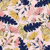 Trend seamless pattern