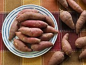 Korean Organic Sweet Potato, Wellness food