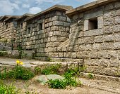 Korean Traditional Architecture Castle Wall