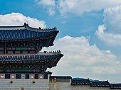 Korean traditional building Gwanghwamun, Korean culture