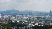Korea Seoul City Cityscape Section Hangang