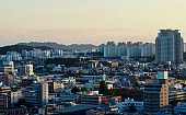 Urban Landscape of Cheongju City in Korea