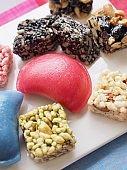 Korean food Songpyeon, half-moon-shaped rice cake, SweetRicePuffs, Chuseok food