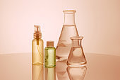 Researchers are using glassware in laboratories, research on cosmetics and energy.
