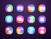 Chatbots icons