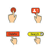 App buttons icons