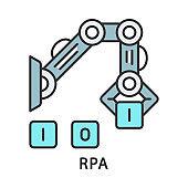 RPA color icon
