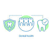 Dental health icon