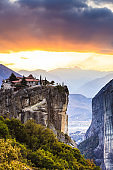 Monastery of the Holy Trinity i in Meteora, Greece