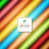 Abstract stripe diagonal pattern colorful gradients color background with space for your text.