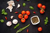 Italian food ingridients