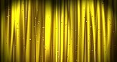 Golden Merry Christmas background with color confetti. Walpaper Valentine's day. 3d render