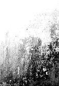 Grunge black and white scratched textured background. Abstract messy and distressed element.