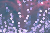 Festive Colorful background with bokeh light