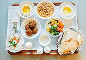 Middle Eastern Breakfast with Mezza & Appetizers