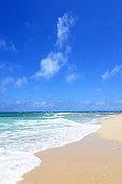 Beautiful sea and summer sky