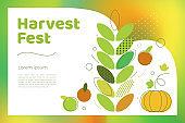 Harvest fest illustration