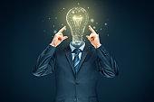 Improve creativity, idea and intelligence concepts