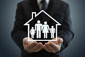Risk home insurance protection family