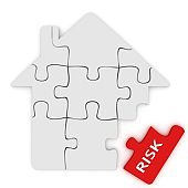 Home insurance house protection risk