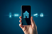 Smart home app on smart phone