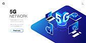 5g network technology background