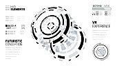 Futurustic HUD Elements Set