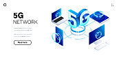 5g network technology background