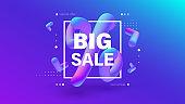 Big sale creative banner design