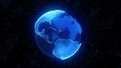 World globe background