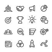 Marketing Icon - Line Series
