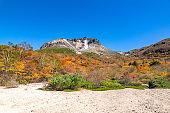Autumn leaves scenery of Mt. Nasu. Nikko National Park