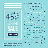 Retail Summer Sale Web Banner