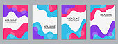 Modern professional business flyers vector templates collection