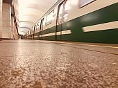 Subway bloodline of city life