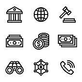 [Pixel Perfect] Finance & Money Icon Set 9