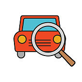 Vehicle Search - Rideshare Icon
