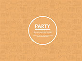 Party Seamless Pattern