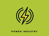 Power Industry Icon