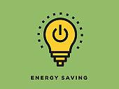 Energy Saving Icon