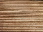 Brown Texture of natural linen fabric stock photo