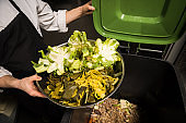 Composting in a commercial kitchen